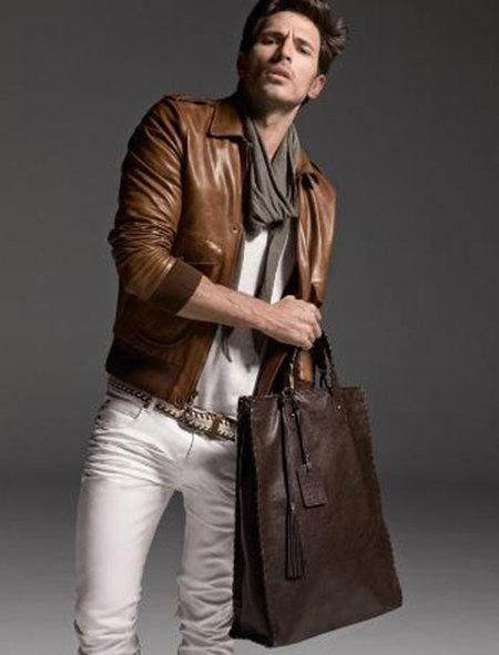 Shopping Bags de piel de Trussardi 1911 para hombre