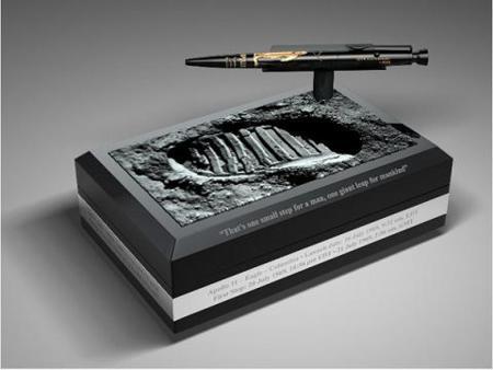 AG7-40LE, el bolígrafo que conmemora la llegada del hombre a la luna
