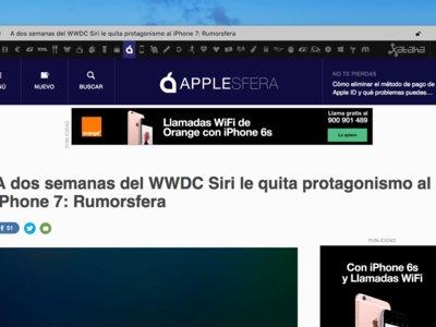 Min, quizás el navegador más simple y ligero que puedes instalar en OS X