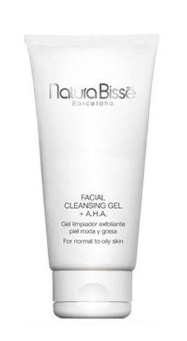 Probamos el Facial Cleasing Gel + A.H.A. de Natura Bissé. Limpieza pieles mixtas y grasas