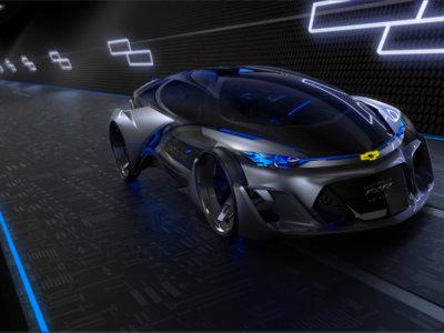 Chevrolet-FNR, el futuro es eléctrico, autónomo y acristalado