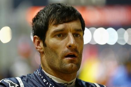 Mark Webber, sancionado, pierde su décima posición