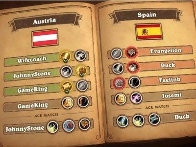 España cae a las primeras de cambio en los Hearthstone Global Games