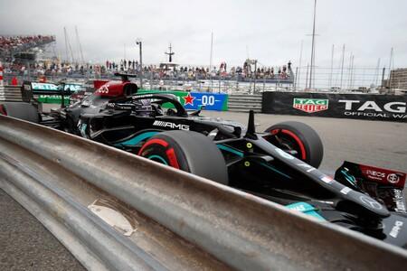 Hamilton Monaco F1 2021
