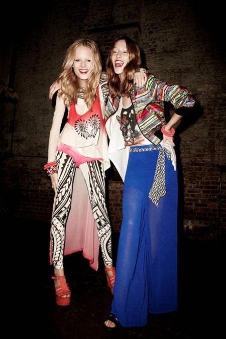 H&M nos muestra cómo ir vestida a un festival: con su colección Fashion Against Aids 2012