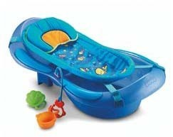 Bañera con hamaca de Fisher Price