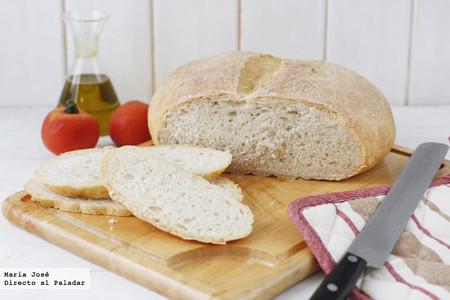 Cómo hacer pan de pueblo, receta básica