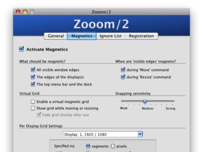 Zooom/2 mueve, redimensiona y alinea ventanas. Screencast en Applesfera