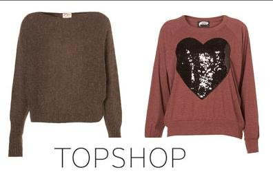 jerseis topshop oversize