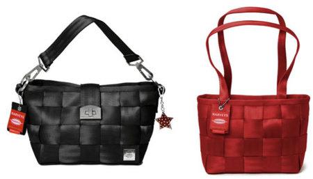 Bolsos hechos con cinturones de seguridad