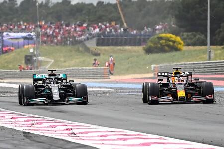 Verstappen Hamilton Francia F1 2021