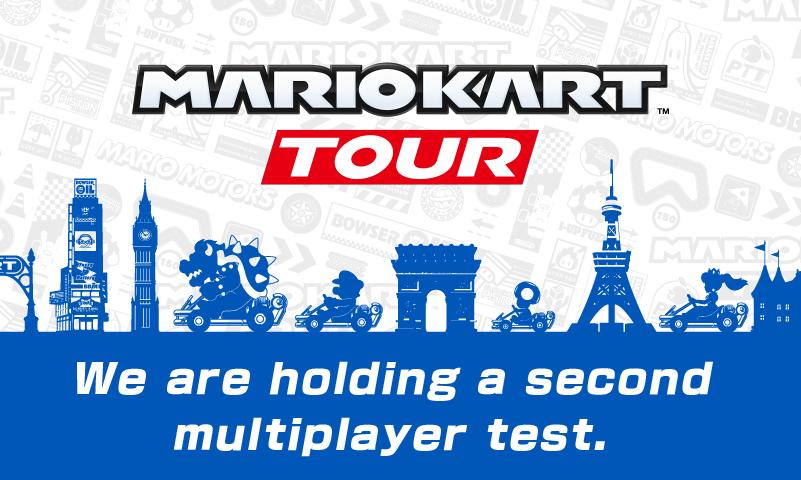 Mario Kart Tour tendrá una 2.ª prueba beta(programa) multijugador, y todos están invitados