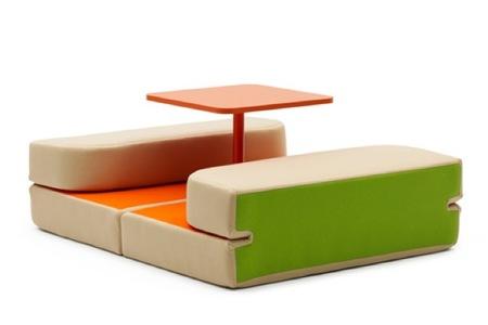 Sweet Talk and Dream, asientos, mesa y cama para los espacios más pequeños