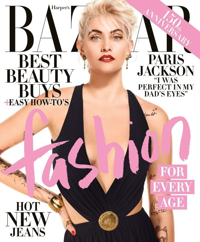 Harper's Bazaar USA: Paris Jackson