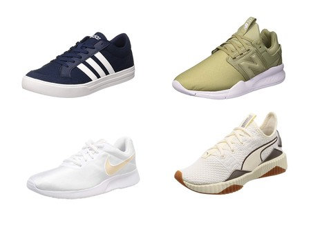 sports shoes 72ae1 1dd70 Chollos en tallas sueltas de zapatillas New Balance, Adidas, Puma o Nike  por menos de 30 euros en Amazon