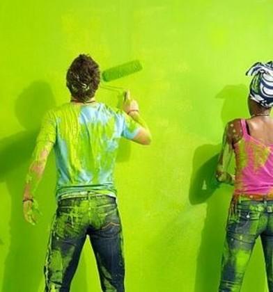 Pintar tu casa herramientas y equipo for Pintar murales en paredes exteriores