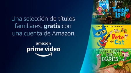 Amazon regala series originales de Prime Video en México: 18 series gratis para niños y toda la familia