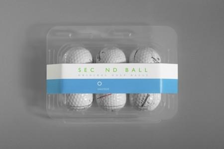 Second Ball, la pelota de golf recuperada del fondo del lago