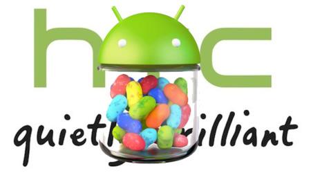 HTC prepara ya la actualización a Jelly Bean para los One S y One X