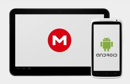Mega ya tiene aplicación para Android