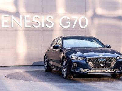 Genesis va tras la caza de BMW y Mercedes con el nuevo G70 2018