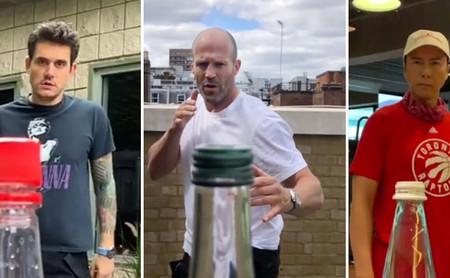 Por qué Internet está repleto de vídeos de gente dando patadas giratorias a botellas