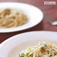 Espagueti aglio e olio. Receta fácil