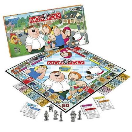 Monopoly de Padre de Familia en edición de coleccionista