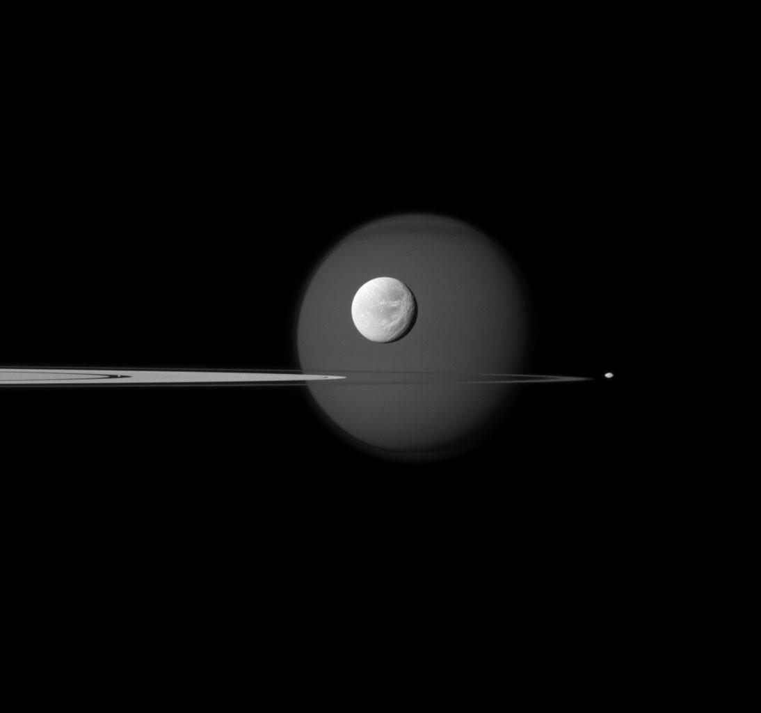 Foto de Fotografías de la misión Cassini (8/9)