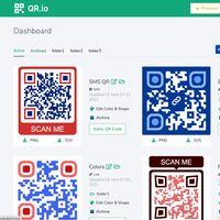 En esta web puedes generar códigos QR personalizados con diferentes colores, formas o hasta tu logo