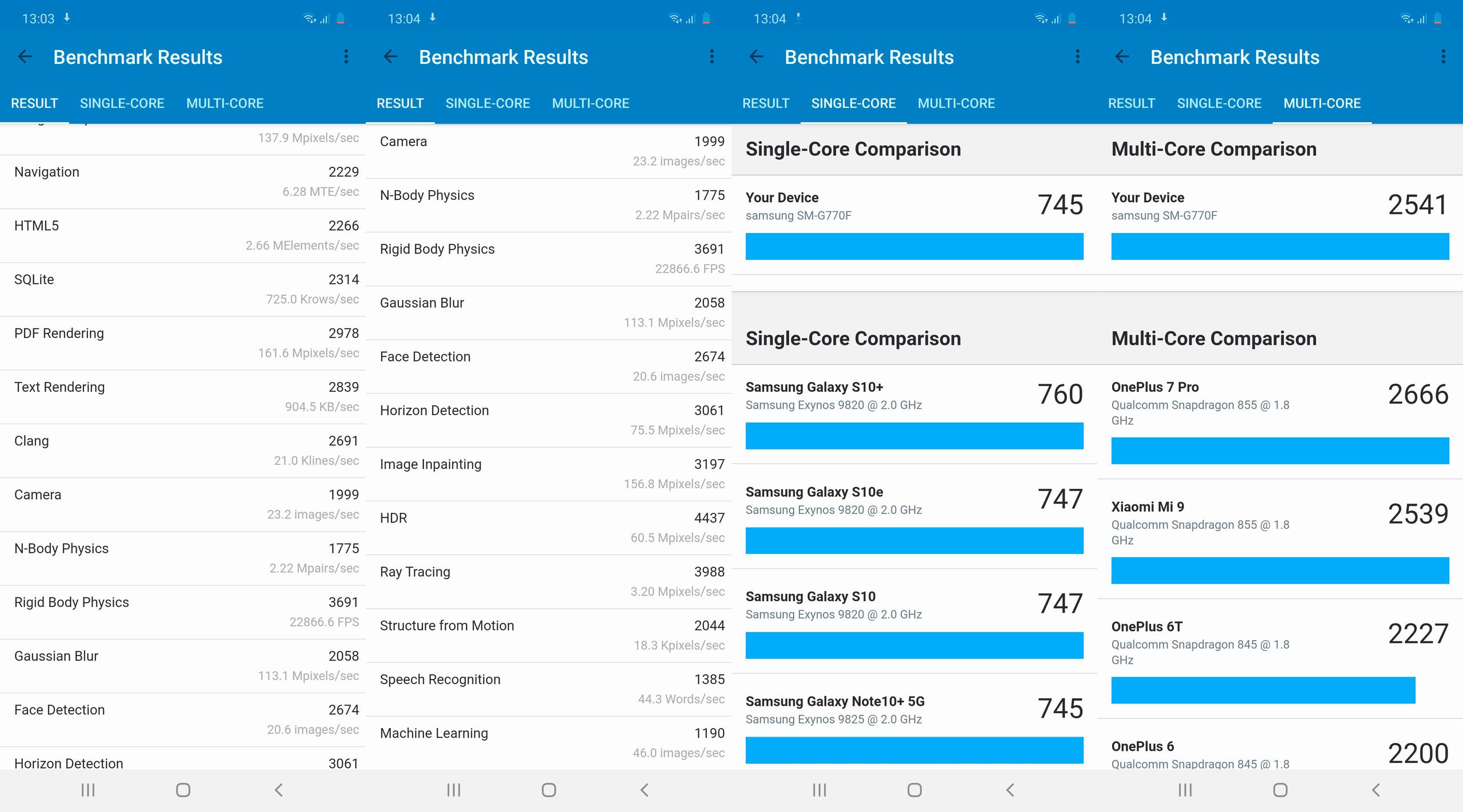 Foto de Samsung Galaxy S10 Lite, benchmarks (4/5)