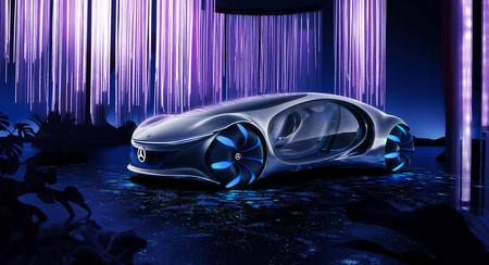 Coches eléctricos y autónomos conectados como animales de 'Avatar': así ve Mercedes-Benz el futuro de la movilidad