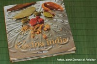 Cocina india para occidentales. Libro