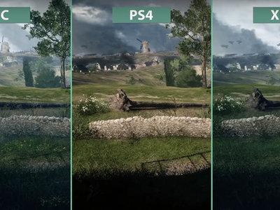 Battlefield 1: compara tú mismo sus diferencias visuales  en PC, PS4 y Xbox One