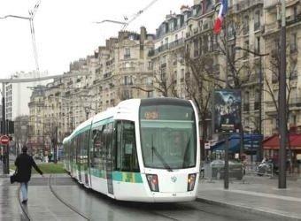 Los tranvías vuelven a París
