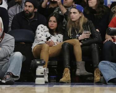 Y las próximas en llamar a la cigüeña serán... ¿Michelle Rodríguez y Cara Delevingne?