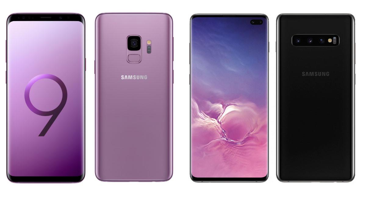 2418a9ef39f Samsung Galaxy S10 vs S10+ vs S9 vs S9 Plus: comparativa de características