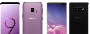 De los Galaxy S9 a los Galaxy S10: esto es todo lo que ha cambiado