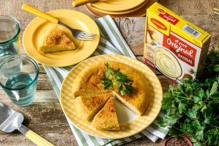 Tres trucos para triunfar con una tortilla vegana