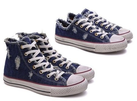Converse Chuck Taylor All Star Denim Distressed