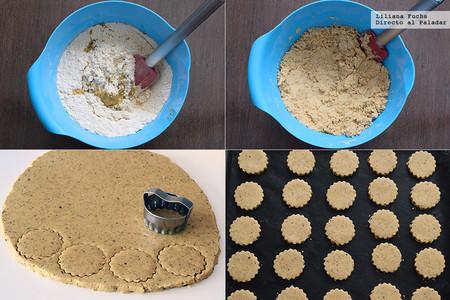 Cómo hacer polvorones de aceite. Pasos