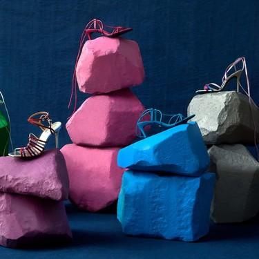 No son los zapatos de Cenicienta, tan solo la nueva Blue Collection de Zara (y los queremos todos)