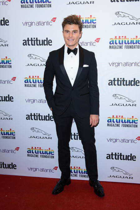 Oliver Cheshire Attitude Awards 2019 Red Carpet London