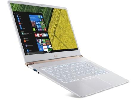 La gama de portátiles Acer Swift quiere seducirnos con su delgadez y sus micros Intel Core de 7ª generación