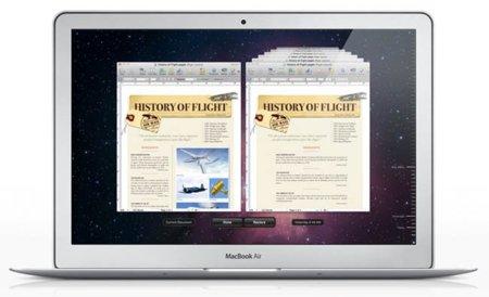 Macbook Air con Lion