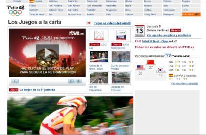 La gente prefiere la TV a Internet para ver Pekín 2008
