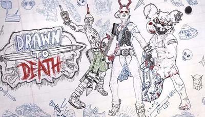 Drawn to Death es el nuevo y violento juego del creador de God of War