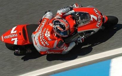 Checa deja buena impresión en Ducati