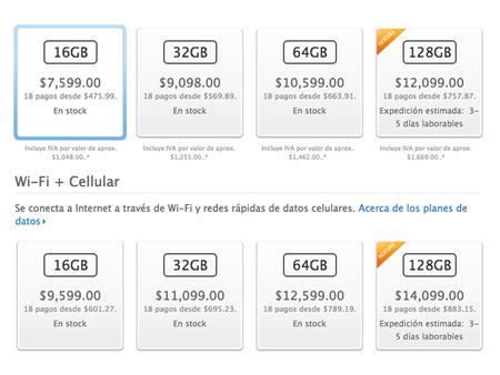 Precio iPad 128GB