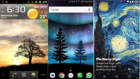 Capturas de pantalla de Wild Animals 3D para tabletas y teléfonos Android.